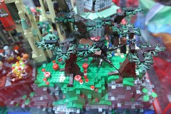 Harry Potter Display Case: - LEGO Booth at Comic Con - 12
