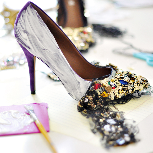 Dolce and Gabbana Embellished Pumps-Shoes-DIY-13