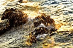 #850B9521 (Zoemies...) Tags: sunset beach waves balikpapan melawai zoemies