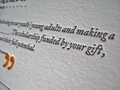 Future Mentors Letterpress Certificate