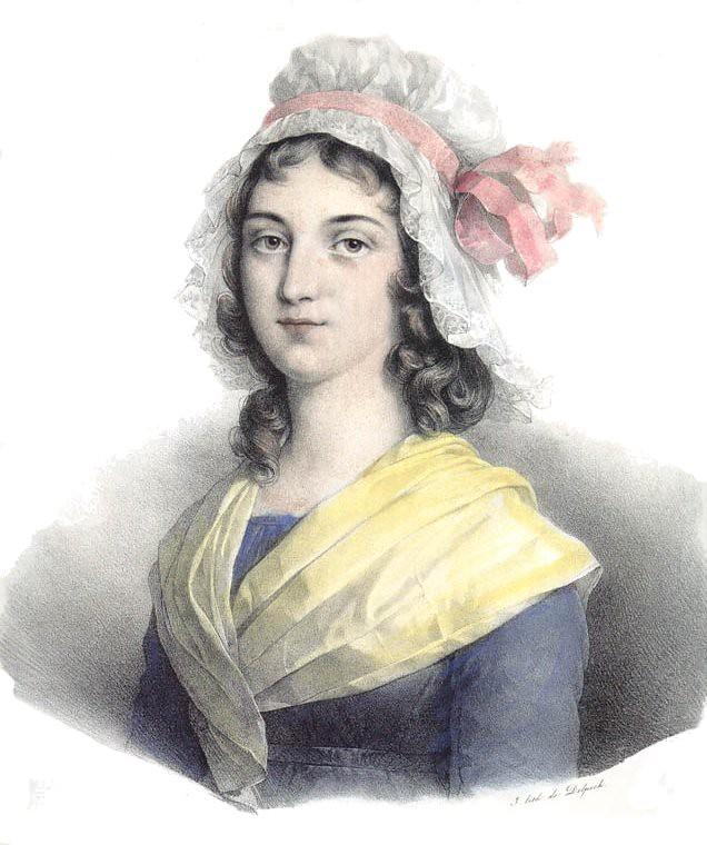 François Séraphin Delpech, Charlotte Corday