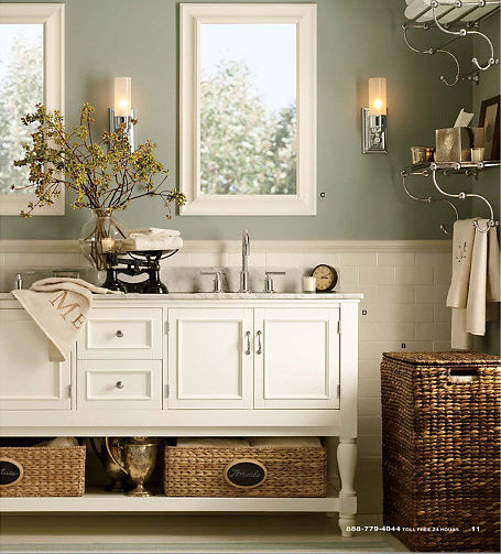 Pottery Barn Newport Bath vanity