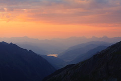 You are amazing... (Ren A) Tags: sunset lake mountains austria golden rocks glow hour layers zellamsee edelweisspitze