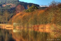 Ard Colours (Shuggie!!) Tags: autumn reflection water landscape scotland williams karl trossachs hdr lochard karlwilliams