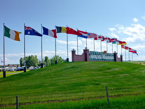 Spruce Meadows @ 1400 km
