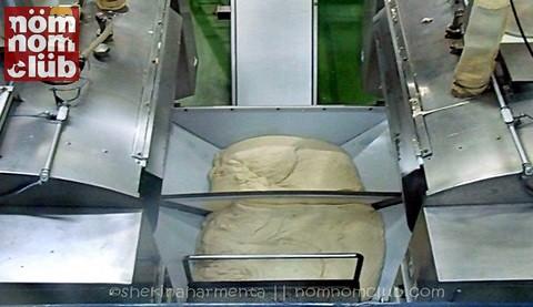 Gardenia Dough Mixing