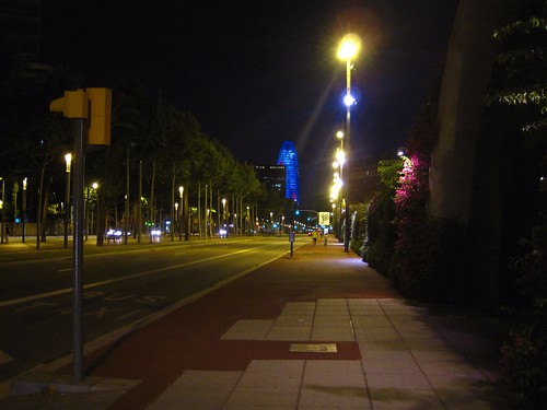 poblenou at night