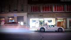 Bugatti Veyron Grand Sport (Niels de Jong) Tags: red white bus london sport st night canon eos lights aperture long shot cream ivory sigma commons grand creme m explore arab shutter bmw 164 gran kuwait tuning bugatti 18200 supercar evo tycoon veyron hamann sloane gransport x6 sloanestreet sloanest explored grandsport hypercar nielsdejong x6m 1000d ndjmedia