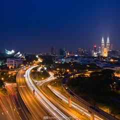 Kuala Lumpur at Night (Firdaus Mahadi) Tags: sky tower night clouds landscape cityscape petronas twin mosque malaysia kualalumpur awan kl klcc masjid malam twintower goldentriangle langit petronastwintower      kualalumpurcitycentre     firdausmahadi firdaus wwwfirdausmahadicom