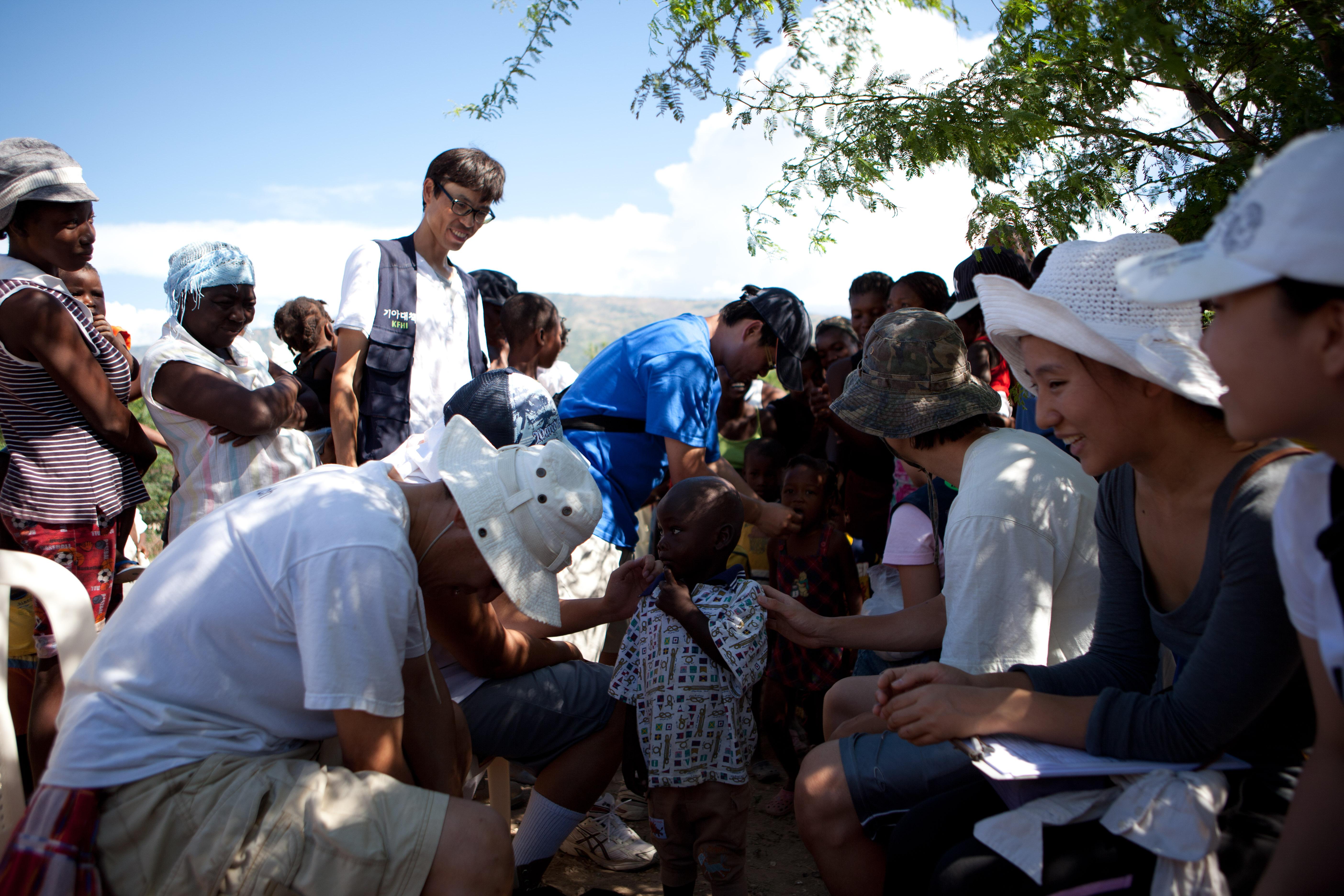 2011 아이티단기선교 어린이사역 (13)