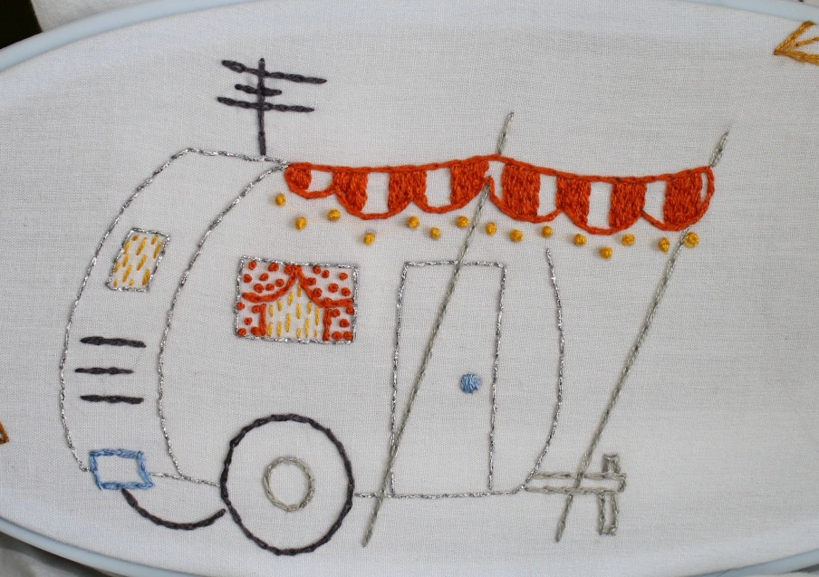 Camper, pattern from Sublime Stitching
