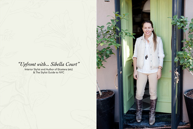 Sibella Court for Upfront with interview with