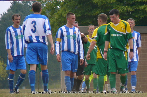 Cliffe FC 5 - 0 Eggborough Eagles (pre-season) 31Jul11