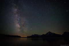 Night Tetons (tristan.greszko) Tags: camping mountain lake canon bay 5d wyoming teton tetons mkii colter grandtetonnationalpark