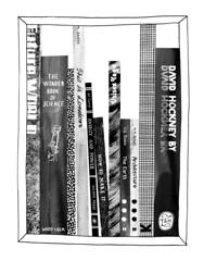 Feels Like Home (Eleanor Rudge) Tags: white black collage illustration pen ink pattern books davidhockney feelslikehome eleanorrudge drawingbrighton