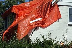 Scheur in Muur (Omroep Brabant) Tags: storm holland nederland thenetherlands brabant noodweer schade vught omroepbrabant stormschade wwwomroepbrabantnl omgewaaidebomen stormschadevught