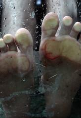 189.365 (MEaglePhoto) Tags: feet glass canon blood cut 365 t1i