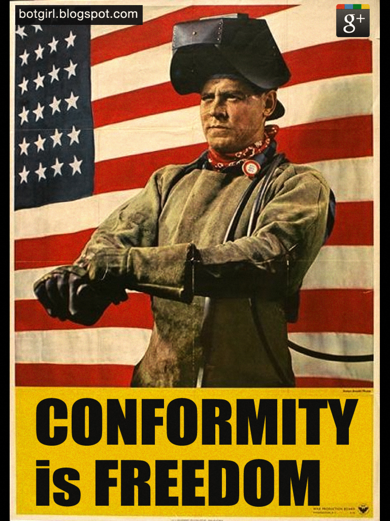 Conformity is Freedom
