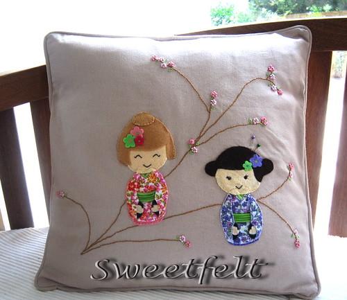 ♥♥♥ Para quem ♥ Kokeshi.... by sweetfelt \ ideias em feltro