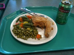 Lunch in KSC cafeteria