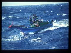 鏢漁船作業