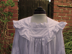 Endless Dreams Cotton Nightgown Front Detail