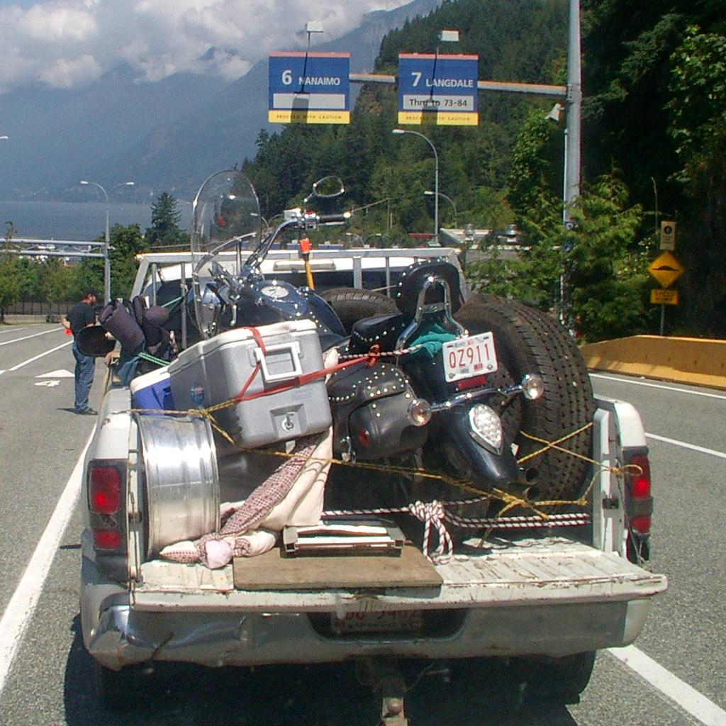 No truck, no trip.