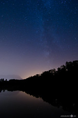 Milky Way over Feldkirch, Austria (andreaskoeberl) Tags: longexposure nightphotography lake night reflections stars austria feldkirch lowlight nikon f28 highiso milkyway vorarlberg 1116 d7000 tokina1116f28 nikond7000 andreaskoeberl