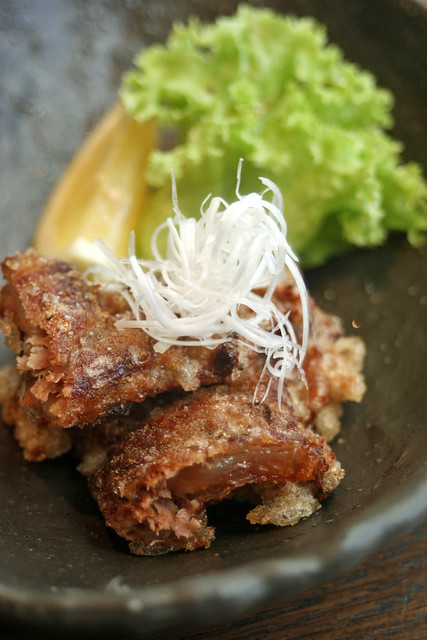 Soki Tatsuga Age - deep-fried stewed pork soft bone