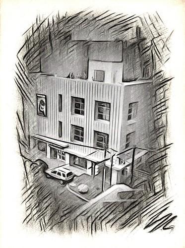 Sketchy Building