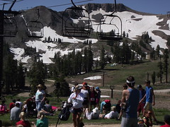 at the top (rundixie) Tags: usa mountain america tahoe running run squawvalley runners olympics mountainrun 2000ft