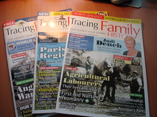 Tracing Family History Magazine by midgefrazel