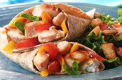 Chicken wrap (eatwell.in) Tags: red summer food chicken vegetables fruit dinner turkey tomato lunch cuisine restaurant salad healthy colorful soft flavor traditional shell wrap plate sandwich fresh gourmet delicious mexican lettuce hunger taco poultry mango meal ingredients mayo grains organic sliced grilled tortilla fajita slices mayonnaise authentic pita wholewheat nutritious mouthwatering appetizing corntortilla