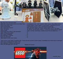 Lego Star Wars 2012 Setlist (Commdr_Neyo ) Tags: