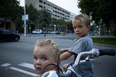 Barcelona Felix et Lulu Bikes