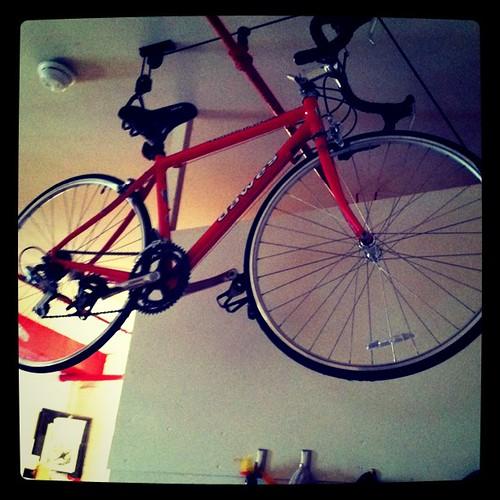 new bike rack!