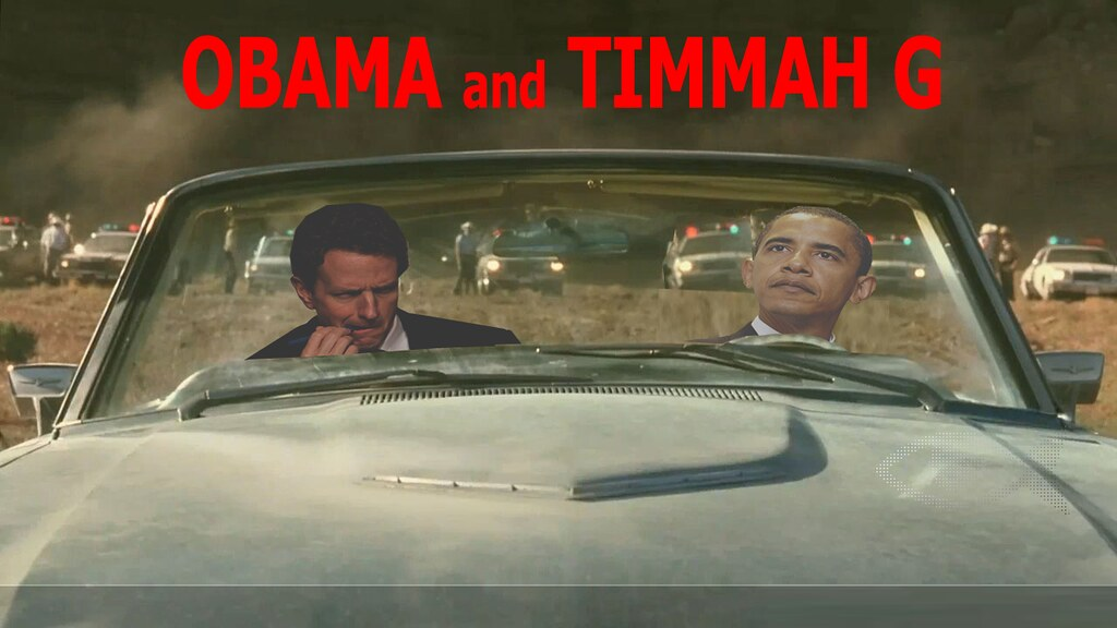 OBAMA AND TIMMAH G