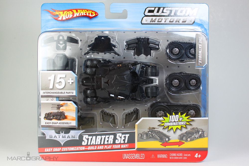 Batmobile (Tumbler), Hot Wheels Custom Motors