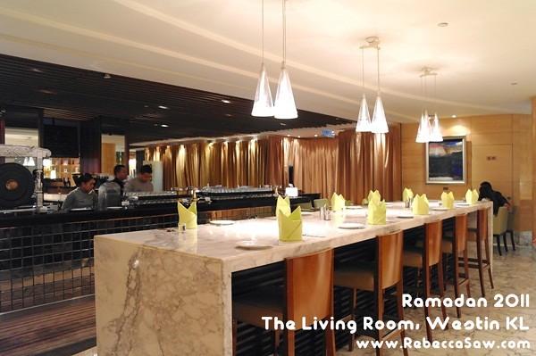 Ramadan 2011 - The Living Room, Westin KL-04