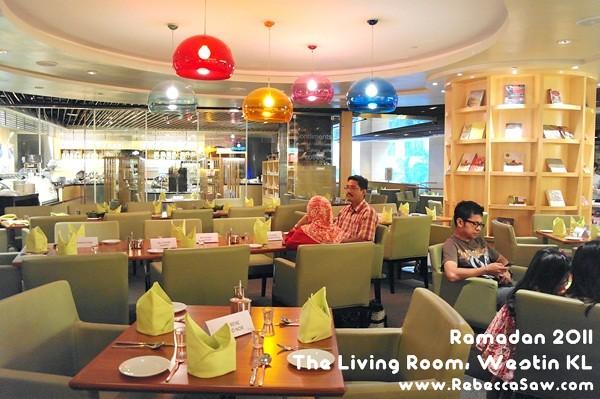 Ramadan 2011 - The Living Room, Westin KL-01