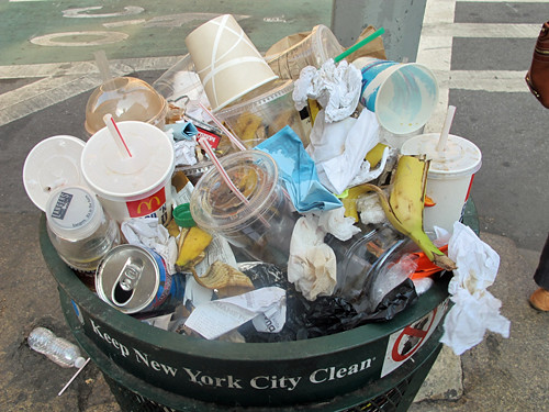 nyc trash
