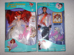 Disney Jewel Ariel & Eric Boxed - SUPER RARE!! (Jay 22330) Tags: ariel doll dolls disney