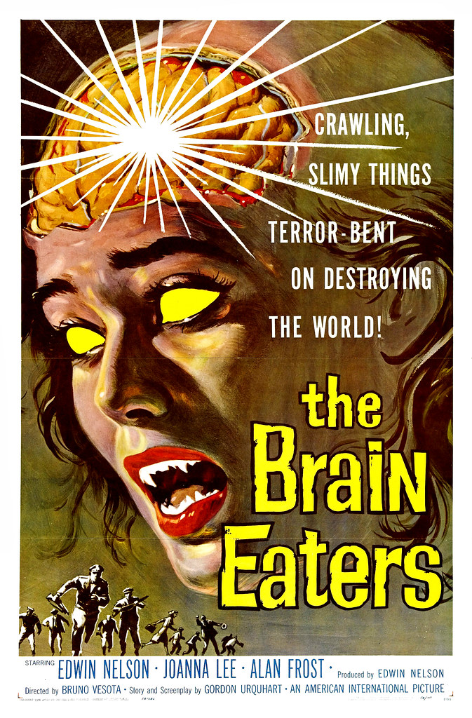 Albert Kallis - The Brain Eaters (American International, 1958) One Sheet
