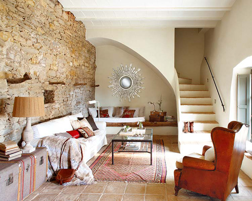 An Old Renovated Spanish Farmhouse THE STYLE FILES