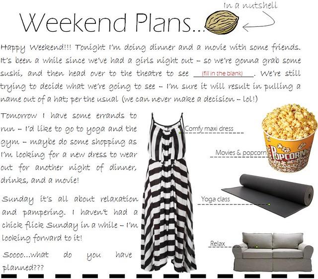 weekend plans 8.12
