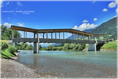 Radtour 2011 17 (peter pirker) Tags: bridge water canon austria sterreich wasser krnten carinthia brcke drautal drau peterfoto eos550d