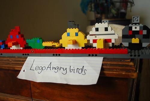 Legos angry birds