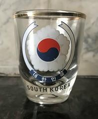 South Korea (Shot Glass) (DrNogo's Collection) Tags: shotglass