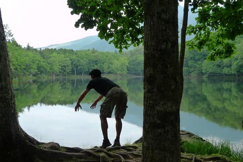 知床五湖、たぶん四湖。