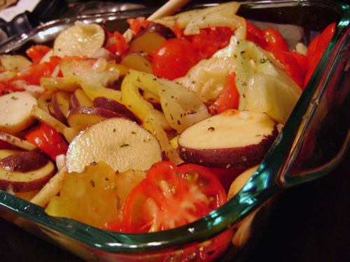 Tomato Potato Bake